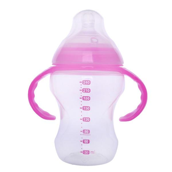 240ml 不含有害物质宽口PP奶瓶
